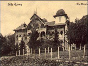 Vila Eftimiu - fost internat și ateliere scoala